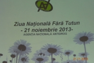 Campania nationala antitutun - 21 nov. 2013